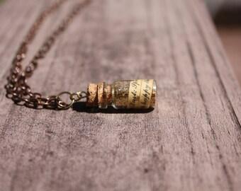Pixie dust rustic necklace
