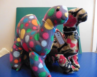 Plush dinosaur (camouflage)