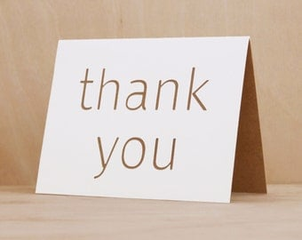 THANK YOU // Thank You Card, Greeting Card, Handmade Card, Homemade Card, Bestfriend Card, Friendship Card, Best Friend card