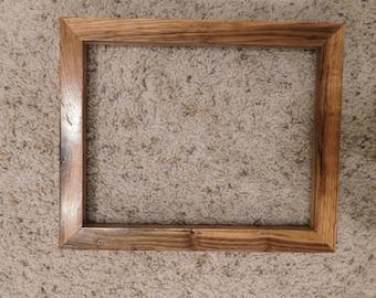 8x10 Finished Oak Frame (#5326)