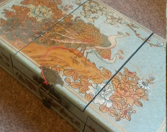 Antique vintage chinese jewellery box