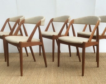 Danish Teak Kai Kristiansen Model 31 Chairs