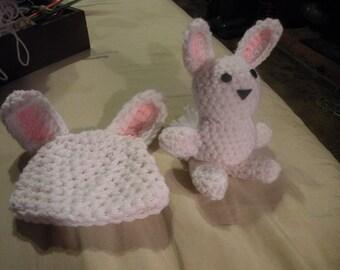 Crocheted Bunny SEt