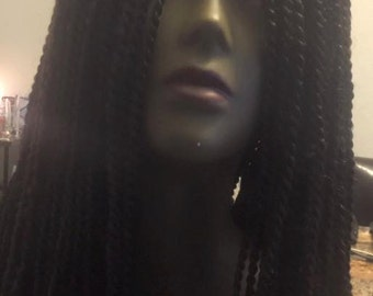crochet sengalese wig