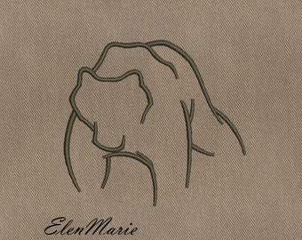 Bear - MACHINE EMBROIDERY DESIGN