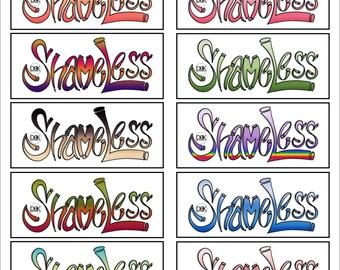 SHAMELESS STICKER