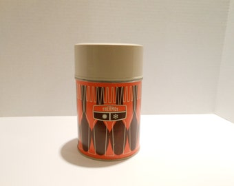 Vintage,Retro wide mouth thermos