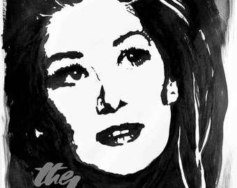 Customized Ink Portrait from Photo