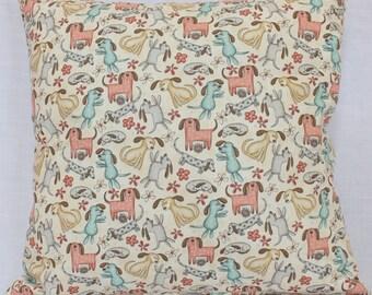 Handmade Cushion Cover - Dogs