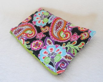 Paisely Zipper Pouch