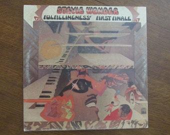 Stevie Wonder - Fulfillingness' First Finale - 1970s Vinyl LP