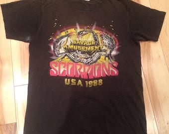 Vintage Scorpions 1988 US tour shirt