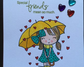 You are sp special to me card