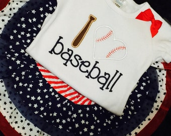 I love baseball applique design embroidery file machine design Instant Download 4X4 5X7 and 8X8 sized hoops Baseball Sister All Star sis
