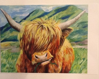 PRINT- Highlander Flannegan