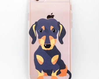 iPhone 8, 7 , 6/6s , 6/6s plus case Dachshund