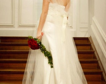Princess wedding dress, lace and tulle