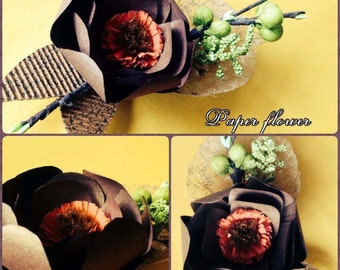 1 x Paper Flower Decoration