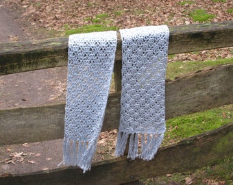 Very Soft Scarf in Pale Blue