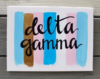 Delta Gamma Brush Strokes