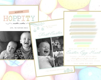 Easter Cards and Invitations! Personalised Printable File!