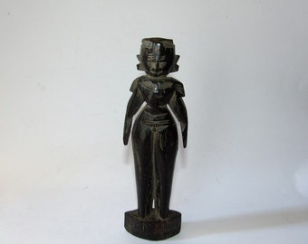Wooden doll from Gujarat