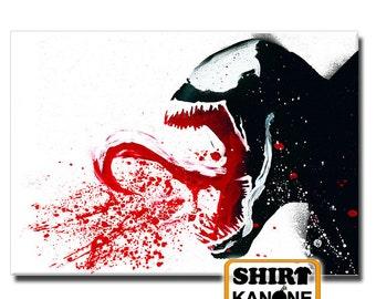 Venom canvas 70 x 50 cm