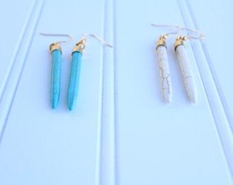Gilbert Spike Earrings