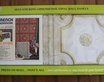 Vintage Retro Wall Tiles new old in box - 6 panels @ 12 square feet