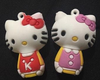 Hello Kitty Charm Erasers