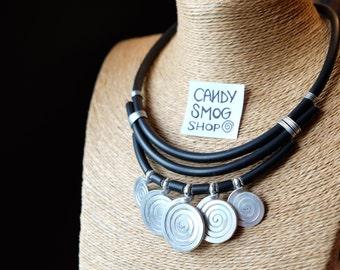 collana spiralosa / spiral necklace