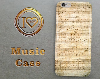 MUSIC Iphone 6 Case Music Note Iphone 5 Case Music Print Iphone 5C Case Music Iphone 6 Plus Case Piano Art Iphone 5S Case Gift for HIM