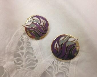 Laurel Burch Vintage Surgical Steel Post Earrings