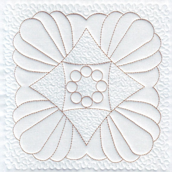 free machine embroidery quilting designs