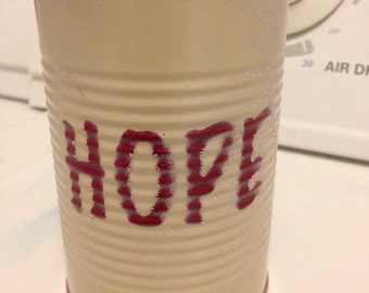 Small tin can-Hope