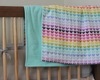 Baby Blanket - Heart Blanket