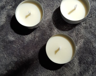 Handmade Soy Candles Tealights lot of 50 Choose Your Scents