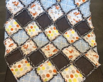 Rag Quilts for Baby