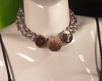 "Necklace Series ""eighties"" # 113-unique piece"