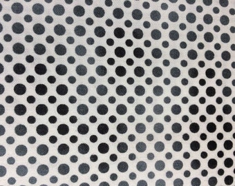 Quilting Treasures Ombre Dots Black Quilting Cotton