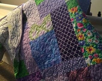 Lavender Turning 20 - Grandma Connie's Quilts