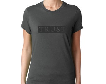 Inspirational Tee Shirts, Trust Tee, Proverbs 3