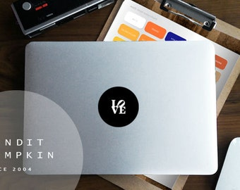 Love Macbook Matt Decal - 45 vinyl colours