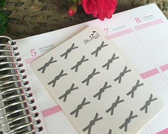 Martial Arts Belts - Planner Stickers