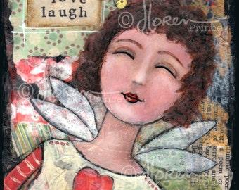 Live Love Laugh - fine art print