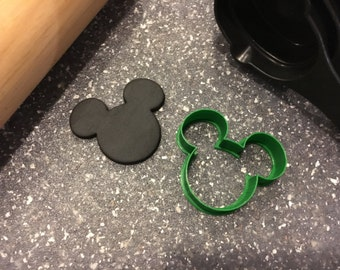 Mickey Mouse Head Cookie Fondant Cutter