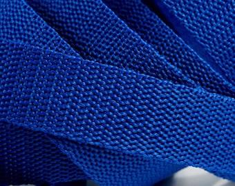 3 m belt bag belt 30 mm in Royal Blue