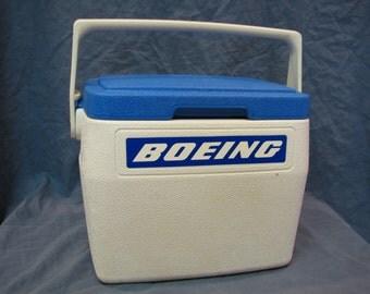 Vintage Coleman Boeing 6.5 Qt. Lunch Box/Cooler