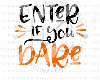Enter if you dare sign – Etsy