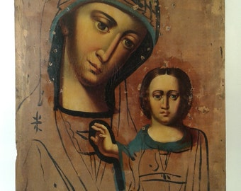 Antique Orthodox Icon 18-19th century.